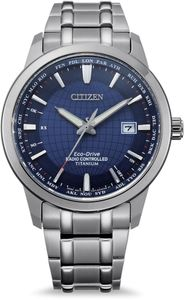 Citizen Herren Armbanduhr Eco-Drive Super Titanium Funksteuerung - CB0190-84L