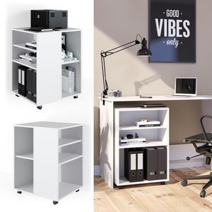 Vicco Rollcontainer für Schreibtisch Bürocontainer Büroschrank Aktenschrank