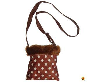 Handtasche Reh, Tasche gepunktet