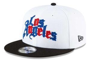 New Era - NBA Los Angeles Clippers 2020 City Series Alternate 9Fifty Snapback Cap - Weiß : Weiß L-XL Farbe: Weiß Größe: L-XL