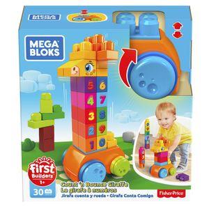 Mega Bloks Spiel-Giraffe (30 Teile)