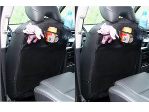 2 X Rückenlehnenschutz Autoorganizer Autositzschoner Stoff Sitzschoner