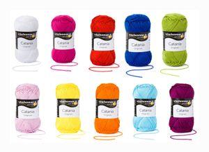 Regenbogen Mix Set - SMC Catania Originals - 100% Baumwolle 10x50g