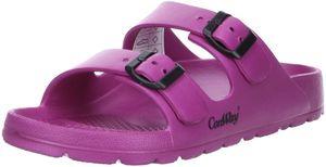 ConWay MISTRAL Damen Badeschuhe Latschen Sandalen Pantoletten pink/fuchsia, Größe:39, Farbe:Pink