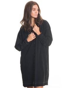 Big Star Damen Bluse Hemd Freizeit Business CHIMA 145673901 BLACK-901 L