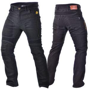 Trilobite PARADO Motorrad-Jeans Herren schwarz kurz 34/30