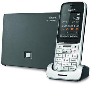 Gigaset SL450 A GO Strahlungsarmes Schnurlostelefon mit Anrufbeantworter, Farbdisplay, Rufnummernanzeige, Freisprechfunktion, Bluetooth, USB-Anschluss, DECT