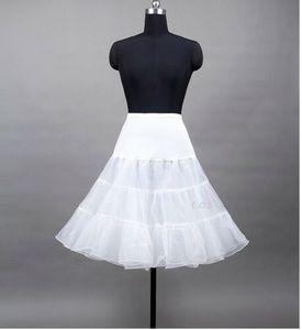 50er 60er Jahr Petticoat Tüllrock Dirndl Rock Unterrock Tütü Damenrock 65cm Weiß M/L