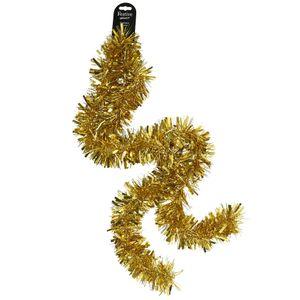 Christmas Shop Lametta, buschig RW3817 (Einheitsgröße (2m x 10cm)) (Gold glänzend)