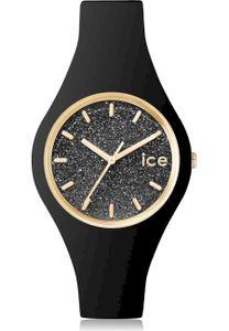 Ice-Watch ICE GLITTER Black Small Uhr Damenuhr Kautschuk schwarz