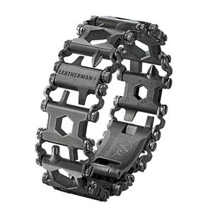 Leatherman Armband TREAD schwarz inkl. 29 Tools, Metrisch