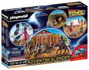 "PLAYMOBIL Weihnachten 70576 Adventskalender ""Back to the Future Part III"""