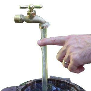Magischer unsichtbarer Wasserhahnbrunnen, unsichtbarer fließender Wasserhahnbrunnen, Desktop Dekorationen, Yard Art Decor