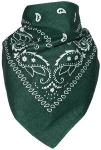 Bandana 100% Baumwolle!, Farbe:schwarz