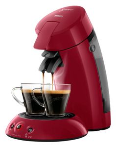 Philips HD6554 / 91 Senseo Coffee Pods Original Red Intensive 0, 75 Liter