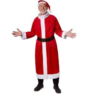 dressforfun Mantel Weihnachtsmann klassisch - XXL