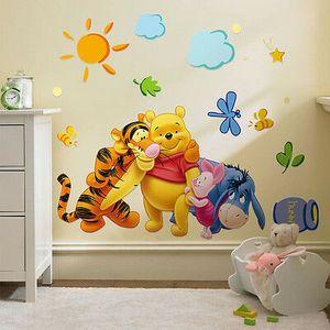 Wandtattoo Wandsticker Winnie Pooh Tigger Wandaufkleber Kinderzimmer Dis-