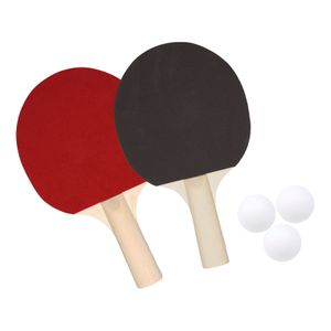 Best Sporting Tischtennis Set, 2 Tischtennis-Schläger, 2 Tischtennis-Bälle