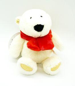 Nici 25954 Eisbär mit rotem Schal 15cm Plüsch Schlenker Kuscheltier Winter