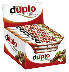 Ferrero Duplo Classic Einzelriegel 40er Big-Pack (40 x 18g Riegel)