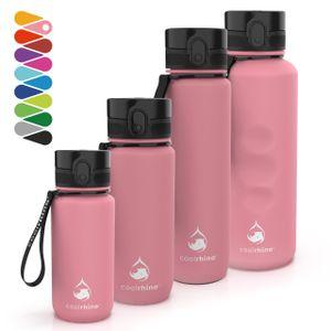 """coolrhino Trinkflasche """"rhinosport"""" 350ml I 650ml I 1l I 1,5 Liter für Sport, Outdoor, Schule, Fitness & Kinder - Wasserflasche auslaufsicher und Bpa frei - Flasche für Kohlensäure geeignet"""