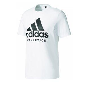adidas Herren Baumwoll SID Branded Tee T-Shirt, Größe:M, Farbe:Weiss