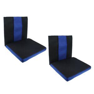 2x Kissen Klemmkissen Sitzkissen Bankkissen mit Rückenlehne Hilft bei Symptomen von Steißbein Steißbeinverletzun
