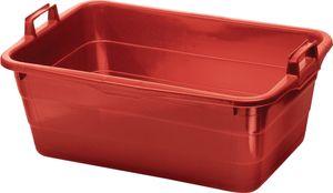 Lockweiler Tragewanne Polyethylen rot 800x535x300mm - 395/80