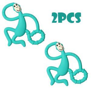 2 pcs Mini Monkey Beißring