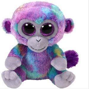 Ty Beanie Boos Zuri Monkey colorful 15cm