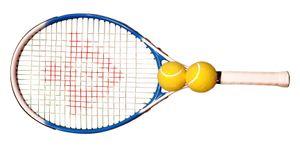 Charlsten Tennisschläger inkl. Tasche und 2 Tennisbälle