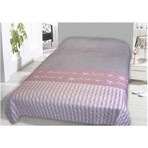 Tagesdecke Bettüberwurf 220x240cm Dream Rosa