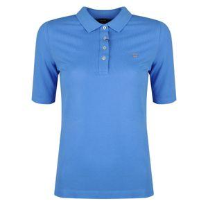 """Gant Polohemd """"Pique LSS"""" -  402210 / The Orginal Pique LSS - Blau-  Größe: XS(EU)"""