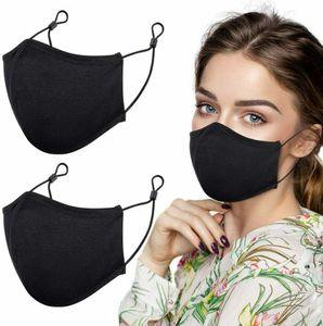 Stoffmaske 5er Set mit Nasenbügel aus 100% hochwertiger Baumwolle Mund-Nasen Maske Baumwollmasken Behelfsmaske Masken