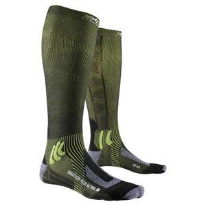 X-socks Marathon Helix Retina Black Melange / Effektor Green EU 42-44