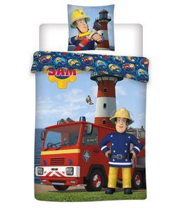 Feuerwehrmann Sam - Baby-Bettwäsche-Set, 100x135 & 40x60 cm
