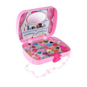 Rosa Kosmetik Spielset Handtasche Mode Beauty Makeup Kit für Mädchen Spielzeug