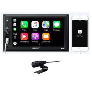 Sony XAV-AX1005DB Apple CarPlay USB MP3 Bluetooth Digitalradio MP3 Moniceiver