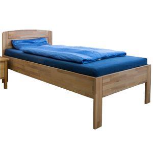 Massivholz Komfortbett Seniorenbett Kernbuche höhenverstellbar 100x200