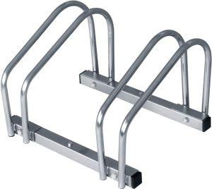 WOLTU Fahrradständer Mehrfachständer für 2 Fahrräder FZ1132m1