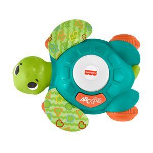 Fisher-Price BlinkiLinkis Meeres-Schildkröte, Baby-Spielzeug mit Musik