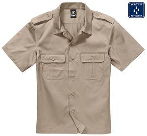 Brandit Hemd US Shirt 1/2 Arm in Beige-XXXXXL