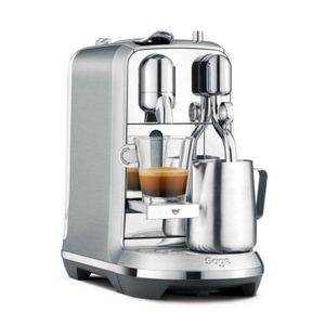 Sage The Creatista Plus Nespresso-Maschine Edelstahl, Farbe:Edelstahl