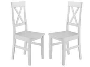 Küchenstuhl Doppelpack Massivholzstuhl Esszimmerstuhl Kiefer 2x Stühle 90.71-23-DW