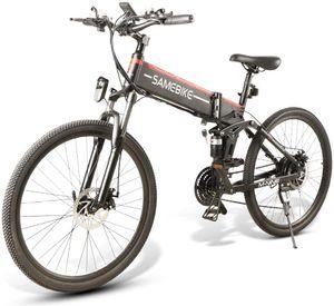 SAMEBIKE LO26 26 Zoll E-bike E-Trekkingrad Elektrofahrrad Elektrisches Fahrrad Citybike Elektrofahrräder Klappbar 500W 48V