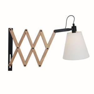 Wandleuchte Peters-Living 3767850 Braun Skandinavisch Wohnraumlampe
