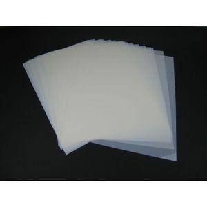 Mylar Airbrush Schablonen Material 10 Stück DIN A4 Folie Mylarfolie