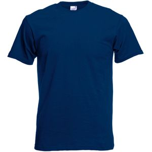 Fruit Of The Loom Herren Screen Stars Original T-Shirt BC340 (L) (Marineblau)
