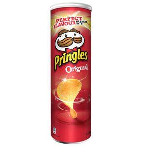 Pringles Original gesalzene Stapelchips dezent würziger Geschmack 200g
