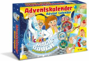 Craze 15049 Advent Kalender Adventskalender MAGIC DOUGH m. Zauberknete